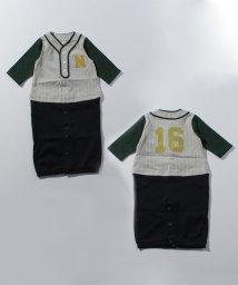 petit main/ベースボールユニホーム2WAYオール/501223623