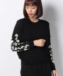 VICE VERSA/花柄ジャカードニットセーター/501226604