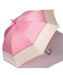 LANVIN Collection(umbrella)/婦人ミニポリエステルツイル先染ボーダー/501236793