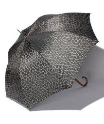 LANVIN Collection(umbrella)/婦人分解ミニP先染ロゴジャカード/501236795