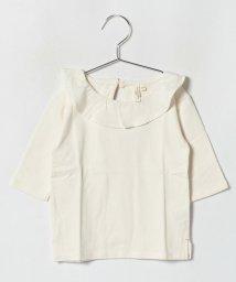 LAGOM/フリル衿7分袖カットソー/501197678