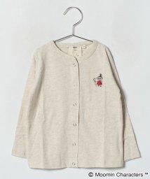 LAGOM/リトルミイ刺繍クルーカーディガン(キッズ)/501197682