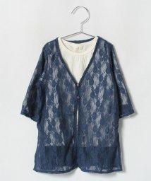 LAGOM/[セット]レースガウン+7分袖カットソー/501197686