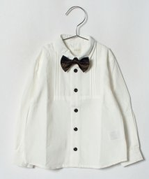 b-ROOM/蝶ネクタイつきシャツ/501228318
