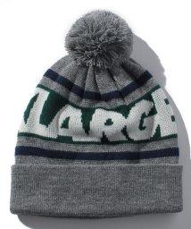 XLARGE KIDS/ポンポンつきラインロゴニット帽/501228325
