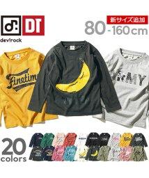 devirock/全20柄プリント長袖Tシャツ カットソー/501232414