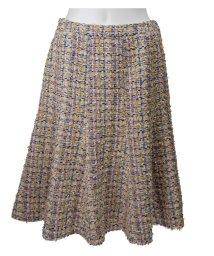 MISS J/【セットアップ対応】フラッグモールファンシーツィードスカート/501232457