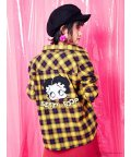 CECIL McBEE/【Betty Boop】チェックシャツ/501232940
