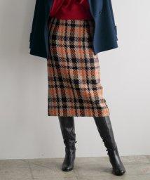 STRAWBERRY FIELDS/『美人百花9月号掲載』ロービングチェック スカート/501238706