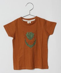 LAGOM/バッファロープリント半袖Tシャツ/501176895