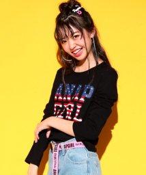 ANAP GiRL/アメリカロゴロンTシャツ/501222346