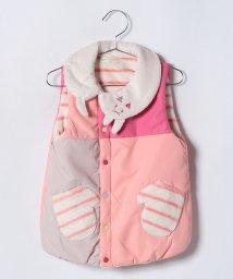 babycheer/ネコ巻きカラーブロックベスト/501226853