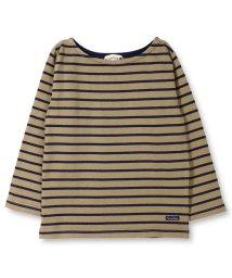 branshes/【タフT】ボートネックボーダー長袖Tシャツ/501239313