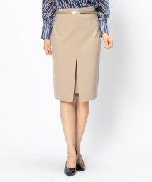 NARA CAMICIE/【セットアップ対応商品】ポンチタイトスカート/501240408
