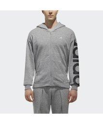 adidas/アディダス/メンズ/M SPORTS ID ビッグリニアロゴ フルジップパーカー (裏起毛)/501242246