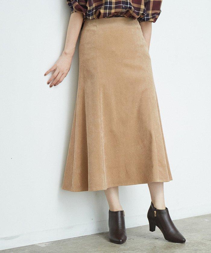 ROPE' PICNIC 防シワコーデュロイスカート