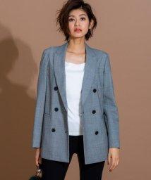 iCB/【軽量アウター】Wool Check ライトジャケット/501243504