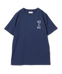 BEAMS MEN/SATURDAYS NYC / ニューヨーク ロゴ Tシャツ/501196065