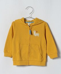 LAGOM/アルパカ刺繍ジップパーカー/501224249
