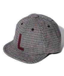 LAGOM/ワッペン付チェック柄CAP/501224263