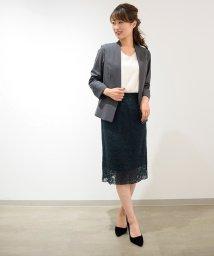 Eimy Peal by POWDER SUGAR/【セットアップ対応商品】フラワーレースタイトスカート/501232438