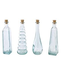 SPICE/AUTHENTIC GLASS コルク蓋ボトル4種セット 120ml/501241799
