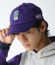coen/【別注】MEI ロゴ刺繍ベースボールキャップ/501243549