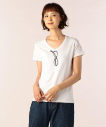 FREDYMAC/Vネックメガネ2 Tシャツ/501243581