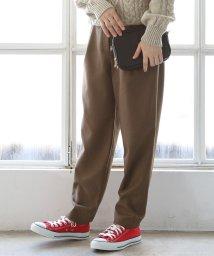 coen/【先行販売】あったか裏起毛テーパードパンツ/501245263