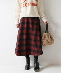 Spick & Span/チェックソフトフレアースカート◆/501245299