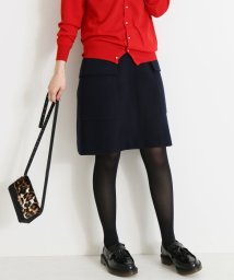 Spick & Span/ウールビーバーポケットツキミニスカート◆/501245300