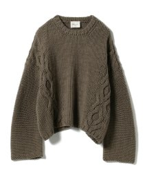 BEAMS OUTLET/Demi-Luxe BEAMS / サイドケーブル ビッグプルオーバー/501246058