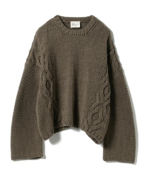 BEAMS OUTLET(ビームス アウトレット)/Demi-Luxe BEAMS / サイドケーブル ビッグプルオーバー/68150225357