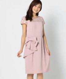 MISCH MASCH/リボン付きタイトドレス/501107620