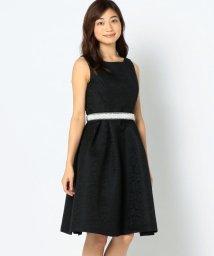 MISCH MASCH/ビジューベルトツキジャガードドレス/501107624