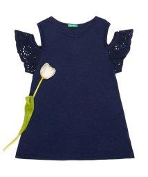 BENETTON (UNITED COLORS OF BENETTON GIRLS)/カットオフショルダーレースTシャツ・カットソー/501232649