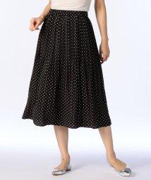 NOLLEY'S/ドットプリントプリーツスカート/501234576