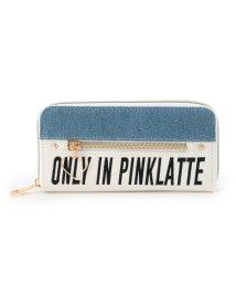 PINK-latte/ハート刺しゅう長財布/501248369