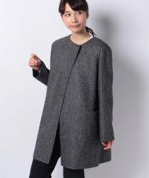 Leilian/【MANIGLIA】ノーカラーコ-ト/501176261