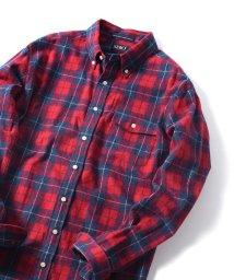 SHIPS JET BLUE/SERO×SHIPS JET BLUE: 別注 ボタンダウン ネルチェックシャツ/501248945