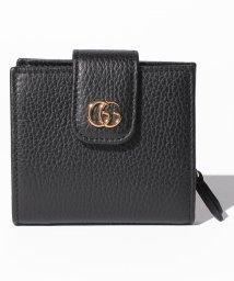 GUCCI/PETITE MARMONT / 2つ折り財布 【NERO】/501196914