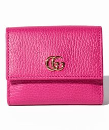 GUCCI/PETITE MARMONT / 3つ折り財布 【BOX PINK】/501196922