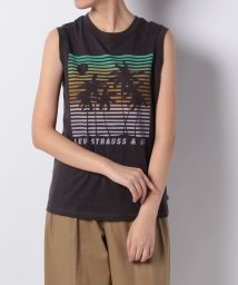 LEVI'S LADY/ON TOUR TANK SCENIC OBSIDIAN GRAPHIC/501228208