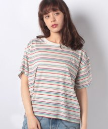 LEVI'S LADY/J.V. TEE CHARLIE MULTI COLOR STRIPE/501228235