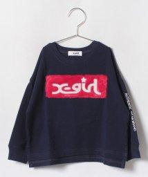 X-girl Stages/ボックスロゴワイドTシャツ/501238882