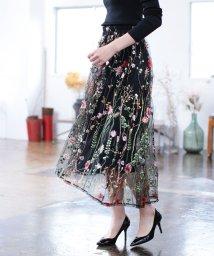 Bou Jeloud/★アソートカラーモチーフ刺繍スカート/501240312