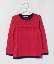 crocs(KIDS WEAR)/CROCSフェイクレイヤードロンT/501236832