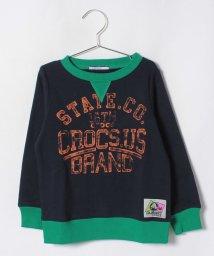 crocs(KIDS WEAR)/CROCSデカロゴ長袖トレーナー/501236834