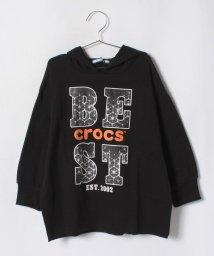 crocs(KIDS WEAR)/CROCSビックシルエットトレーナー/501236837