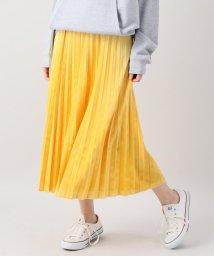 Spick & Span/【JUST】ベルベットプリーツスカート/501254967